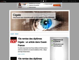 cigale.over-blog.net screenshot
