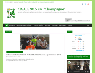 cigalefm.net screenshot