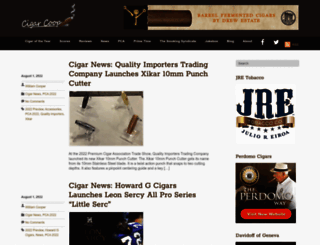 cigar-coop.com screenshot