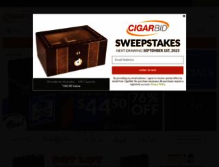 cigarbid.com screenshot