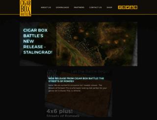 cigarboxbattle.com screenshot
