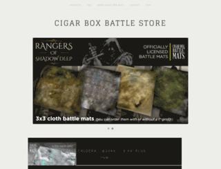 cigarboxbattlestore.bigcartel.com screenshot