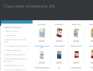 cigarette-wholesale.co.uk screenshot