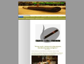 cigarren-colleg.de screenshot