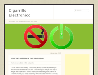 cigarrilloelectronico.com screenshot