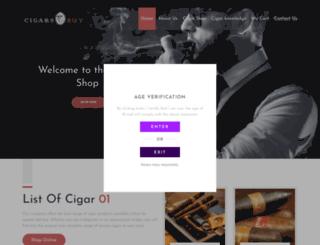 cigarsbuy.com screenshot