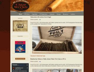 cigarweekly.com screenshot