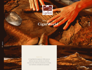 cigarworld.pt screenshot