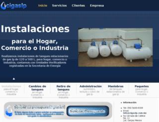 cigaslp.com.mx screenshot