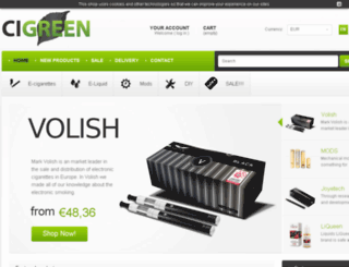 cigreen.com screenshot