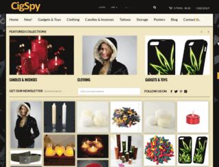 cigspy.myshopify.com screenshot