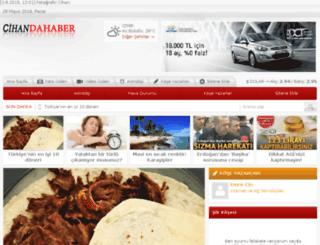 cihandahaber.com screenshot