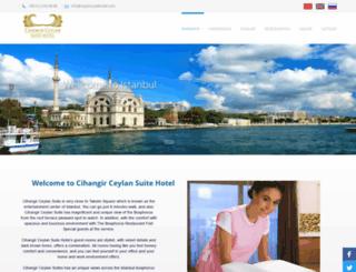 cihangir-ceylan-suite-hotel.hotelrunner.com screenshot