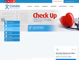 cihanhastanesi.com.tr screenshot