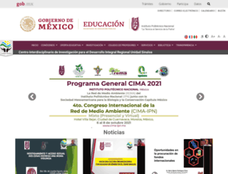 ciidirsinaloa.ipn.mx screenshot