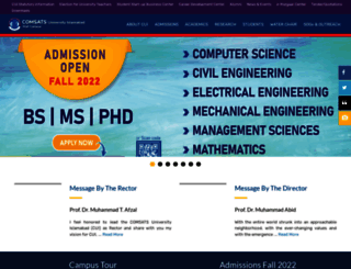 ciitwah.edu.pk screenshot