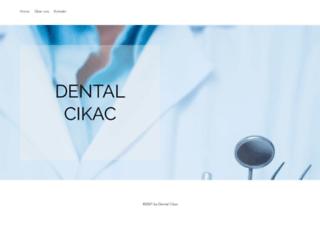 cikac-dental.com screenshot