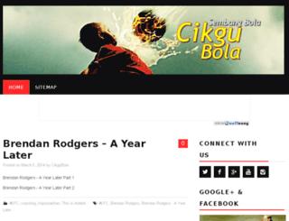 cikgubola.com screenshot
