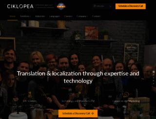 ciklopea.com screenshot