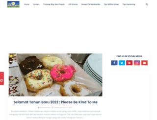 cikmatahariku.blogspot.com screenshot