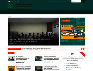cilad.unissula.ac.id screenshot