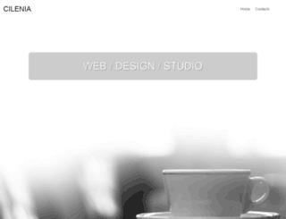 cilenia.com screenshot
