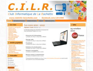 cilr.free.fr screenshot