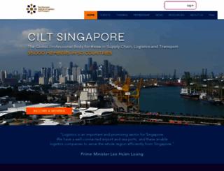 cilt.org.sg screenshot