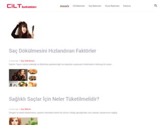 ciltbakimlari.com screenshot