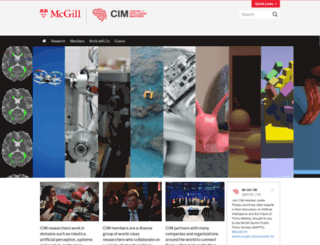 cim.mcgill.ca screenshot