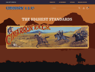 cimarron-firearms.com screenshot
