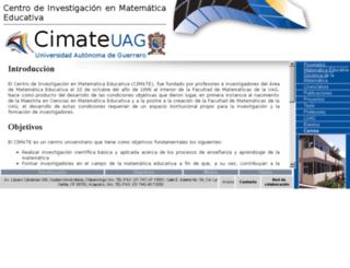 cimateuagro.org screenshot