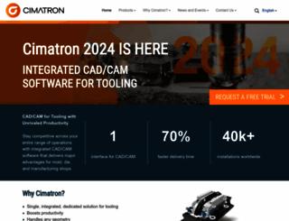 cimatron.com screenshot