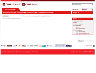 cimbbizchannel.com screenshot