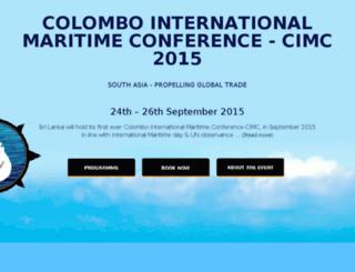 cimc2015.com screenshot