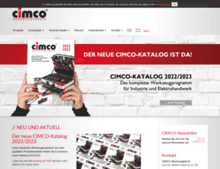 cimco.de screenshot