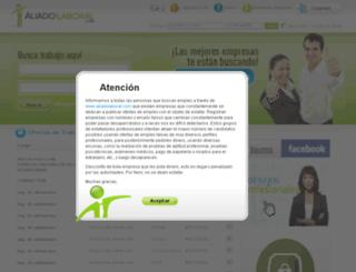 cimd.aliadolaboral.com screenshot