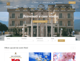 ciminohotels.it screenshot