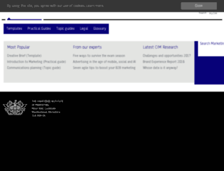cimmarketingexpert.co.uk screenshot