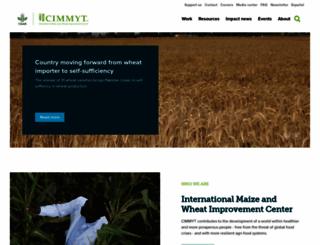 cimmyt.org screenshot