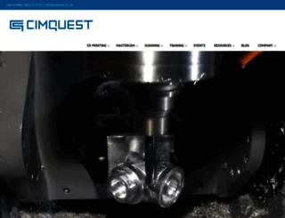 cimquest-inc.com screenshot