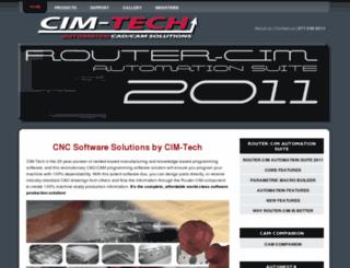 cimtechsoftware.com screenshot