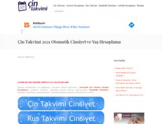 cin-takvimi.gen.tr screenshot
