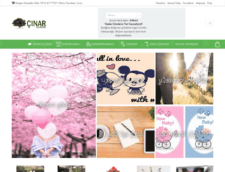 cinarcicekcilik.com.tr screenshot