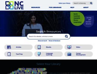cinch.nclive.org screenshot