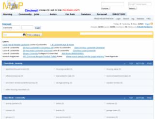 cincinnati.maplist.org screenshot