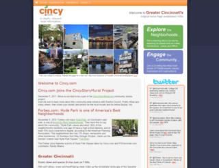 cincy.com screenshot