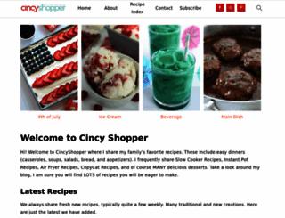 cincyshopper.com screenshot