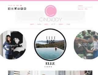 cindiddy.com screenshot