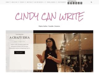 cindy-storybooks.blogspot.com screenshot